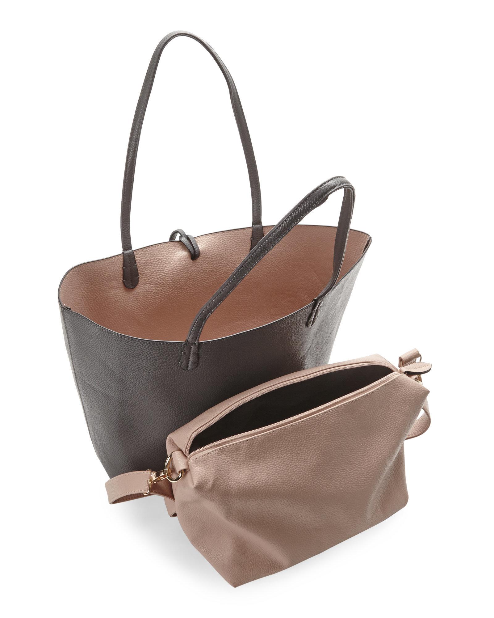 Reversible Tote Handbags Confederated