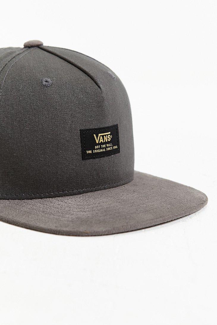Lyst - Vans Prater Starter Snapback Hat in Gray for Men 95045440f4a