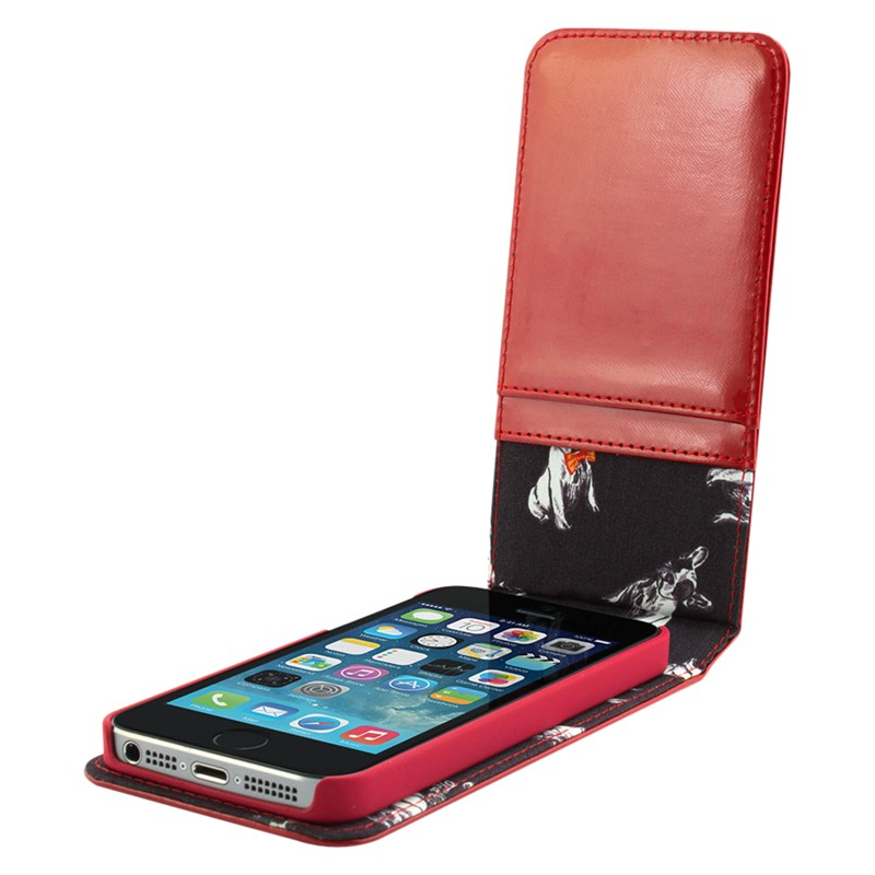 c5bcbeeb9b1d Ted Baker Flip Leather Case For Iphone 5 5s in Red - Lyst