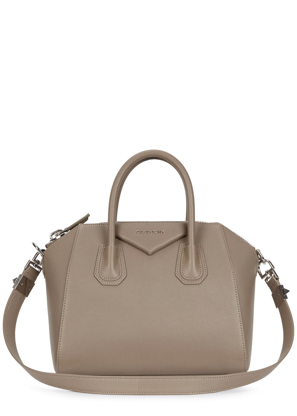 Givenchy Antigona Small Taupe Grained Leather Tote in Brown - Lyst d729fec740689