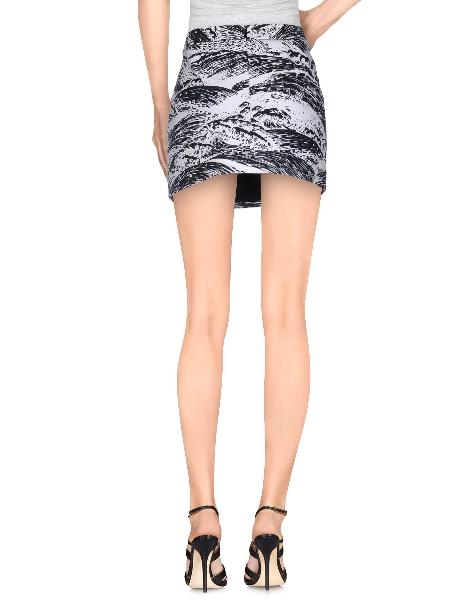 kenzo mini skirt in white lyst