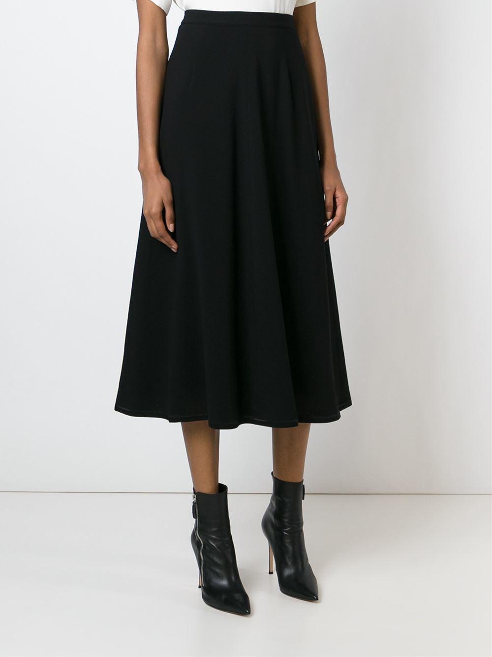 givenchy high waist skirt in black lyst