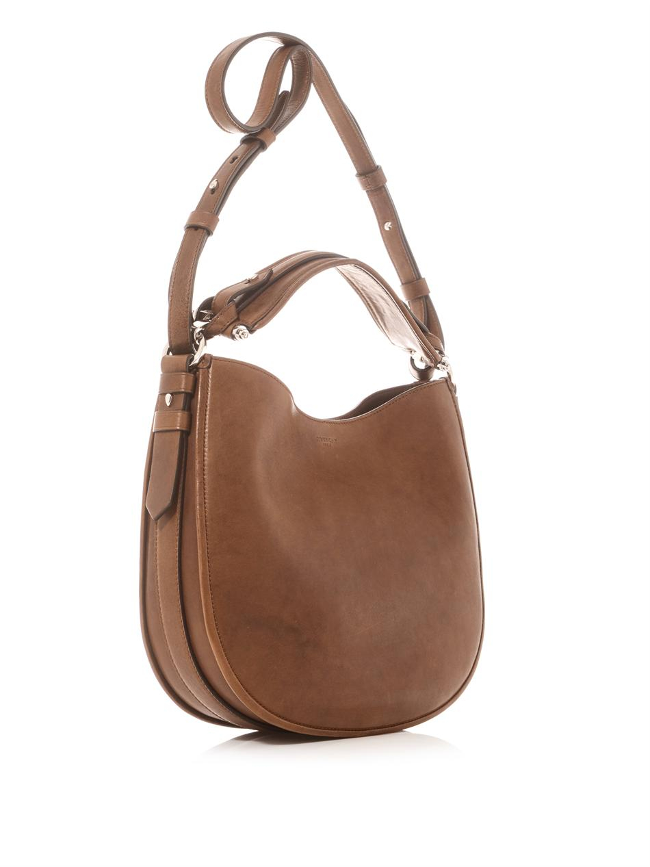 Givenchy Obsedia Crossbody Hobo Bag in Brown | Lyst