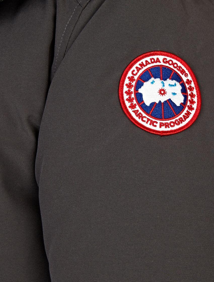 Canada Goose' Men's Fur-Trimmed Chateau Parka-DARK GREY Size L