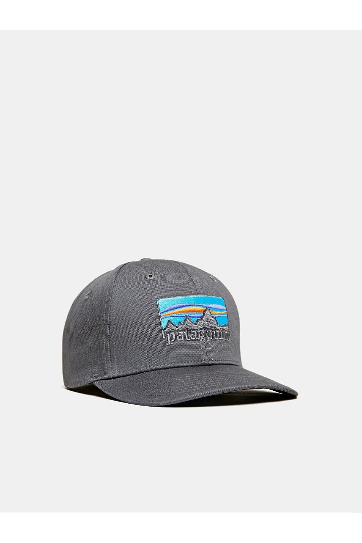 05a81e76 Patagonia 73 Logo Roger That Hat in Gray for Men - Lyst
