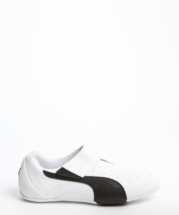 puma basket white black stripe   Rabbi Gafne