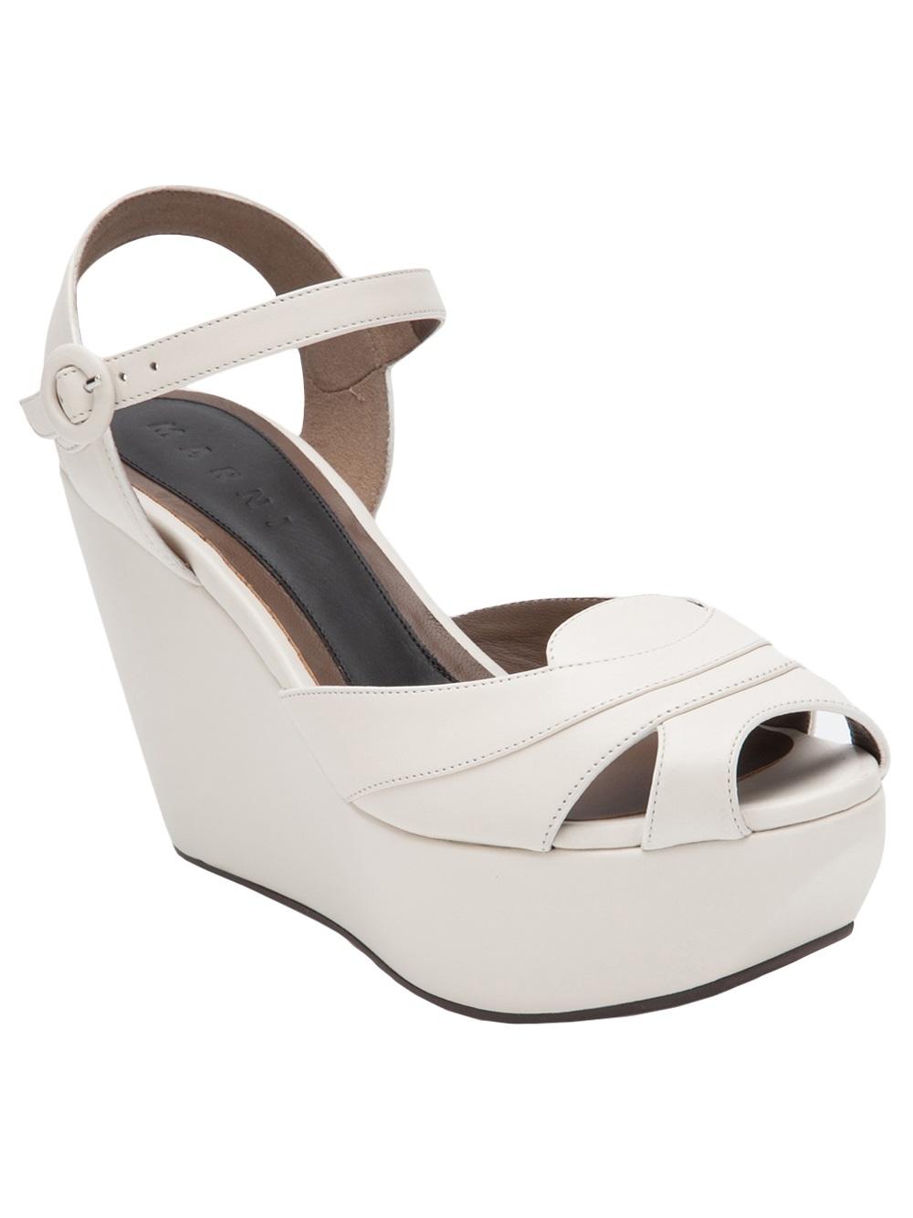Marni Wedge platform sandals Enjoy Classic Wholesale Price Sale Explore pxS3jKd