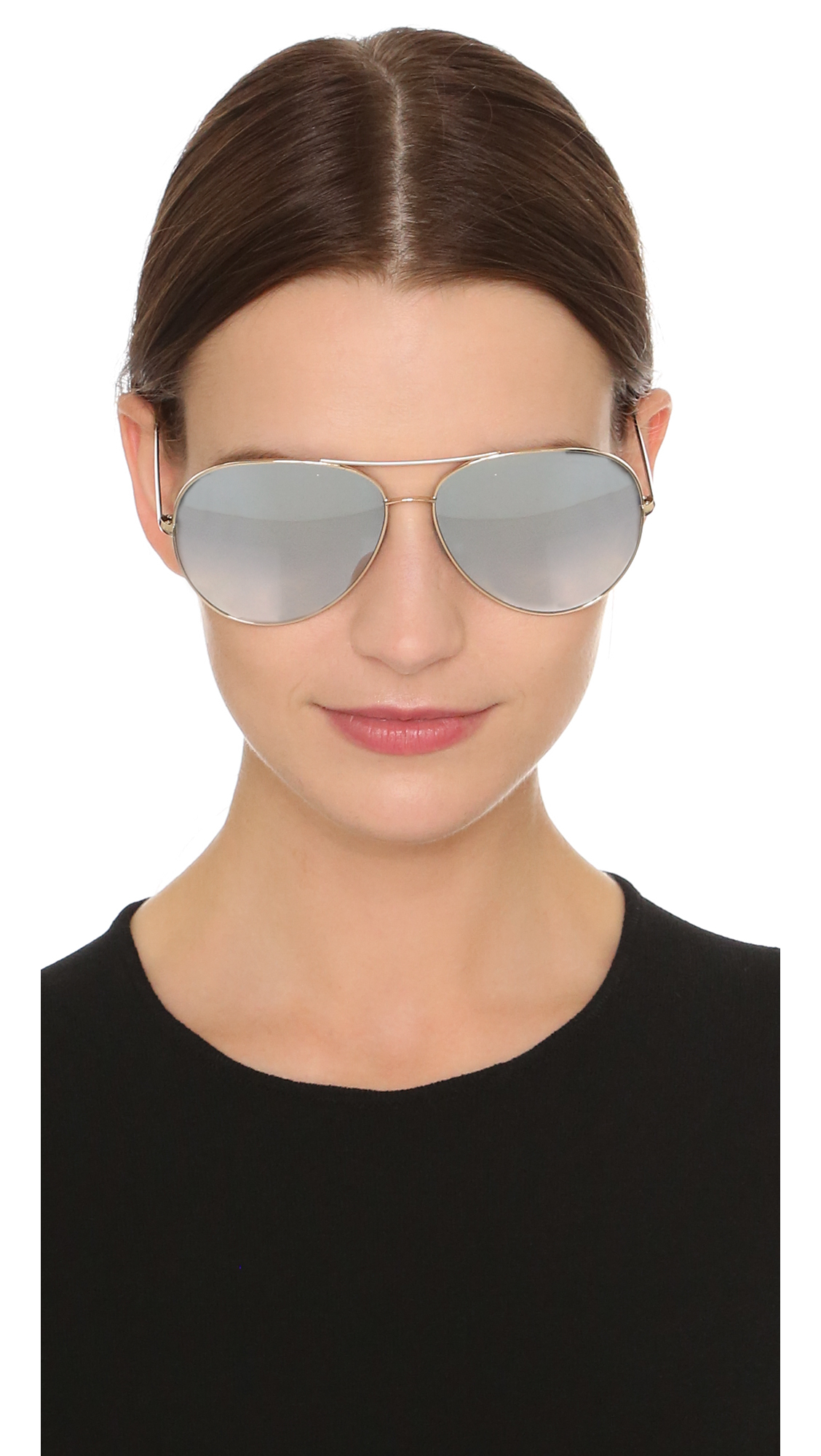d3e90ad040af Lyst - Oliver Peoples Sayer Sunglasses in Metallic