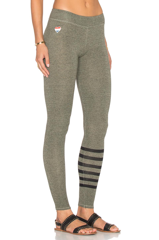 Olive yoga pants-7606
