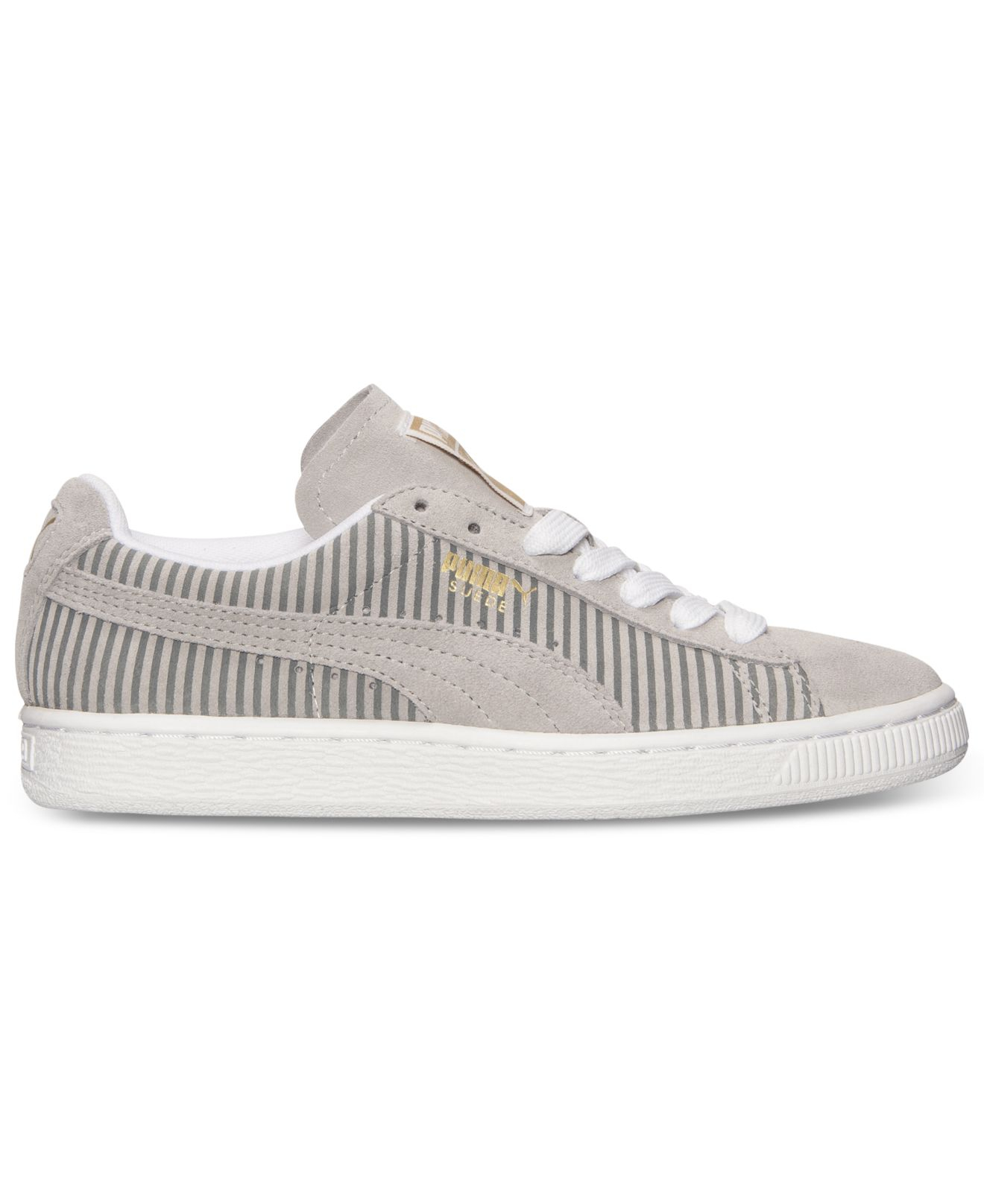 Lyst - PUMA Women S Suede Classic Lo Casual Sneakers From Finish ... 0f05cbfb7
