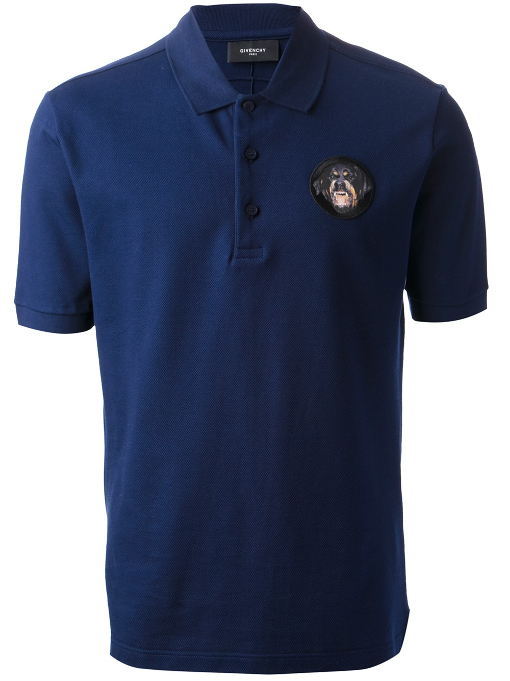 Black Shirt And Dog Collar