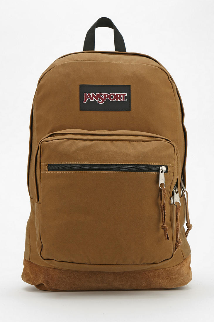 Lyst Jansport Right Pack Expressions Backpack In Brown