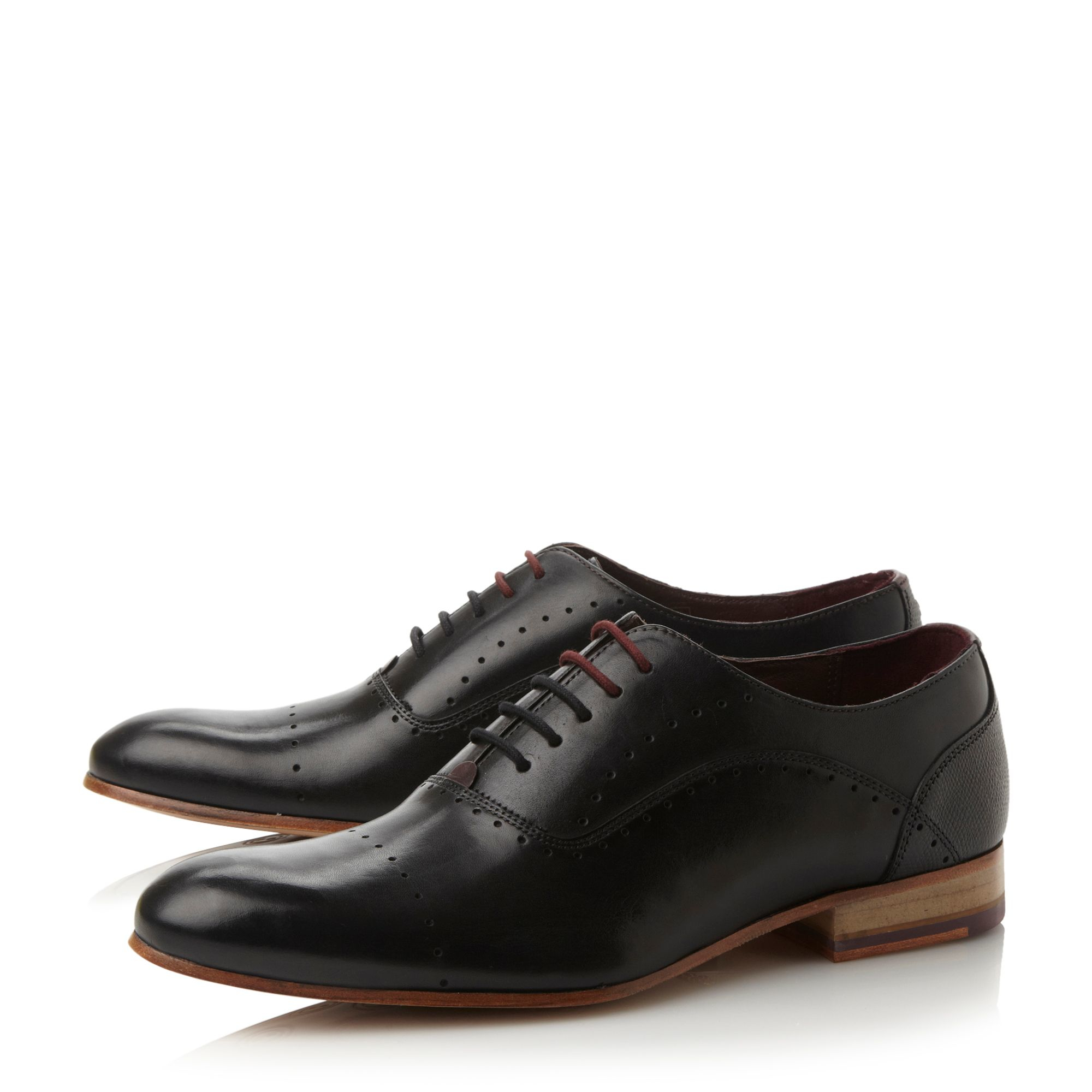 Ted Baker Men S Umbber Leather Oxford Shoes Tan