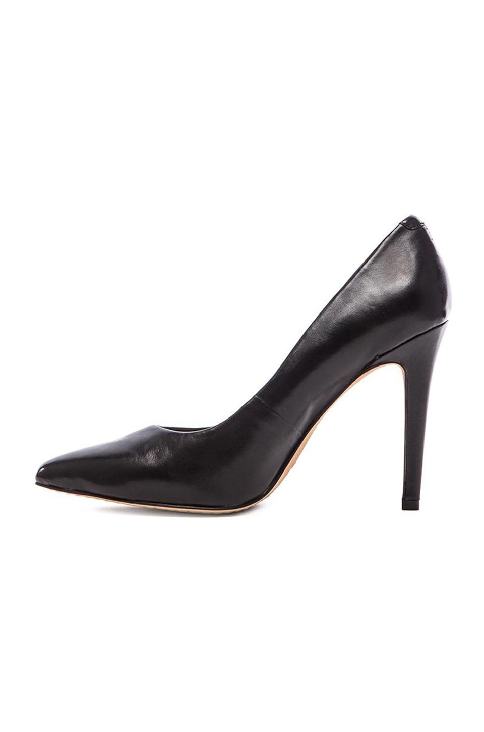 Vince Camuto Kain Nappa Leather Heel In Black Lyst