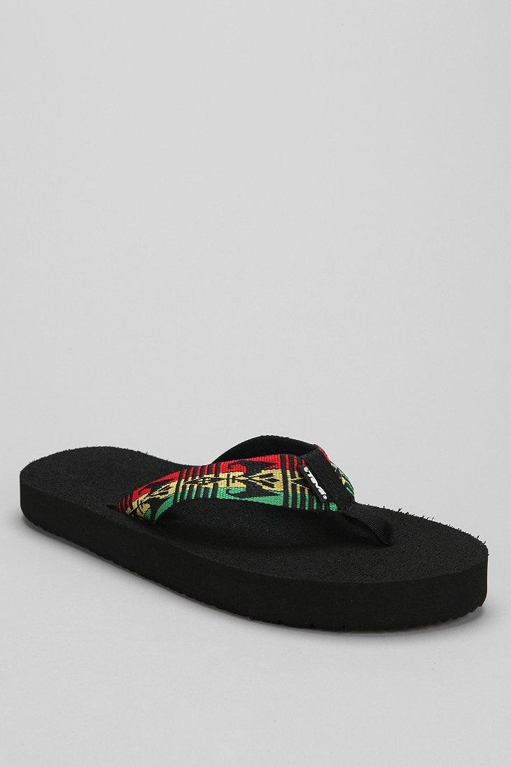 72f33f117828 Lyst - Teva Original Mush Thong Sandal in Black for Men