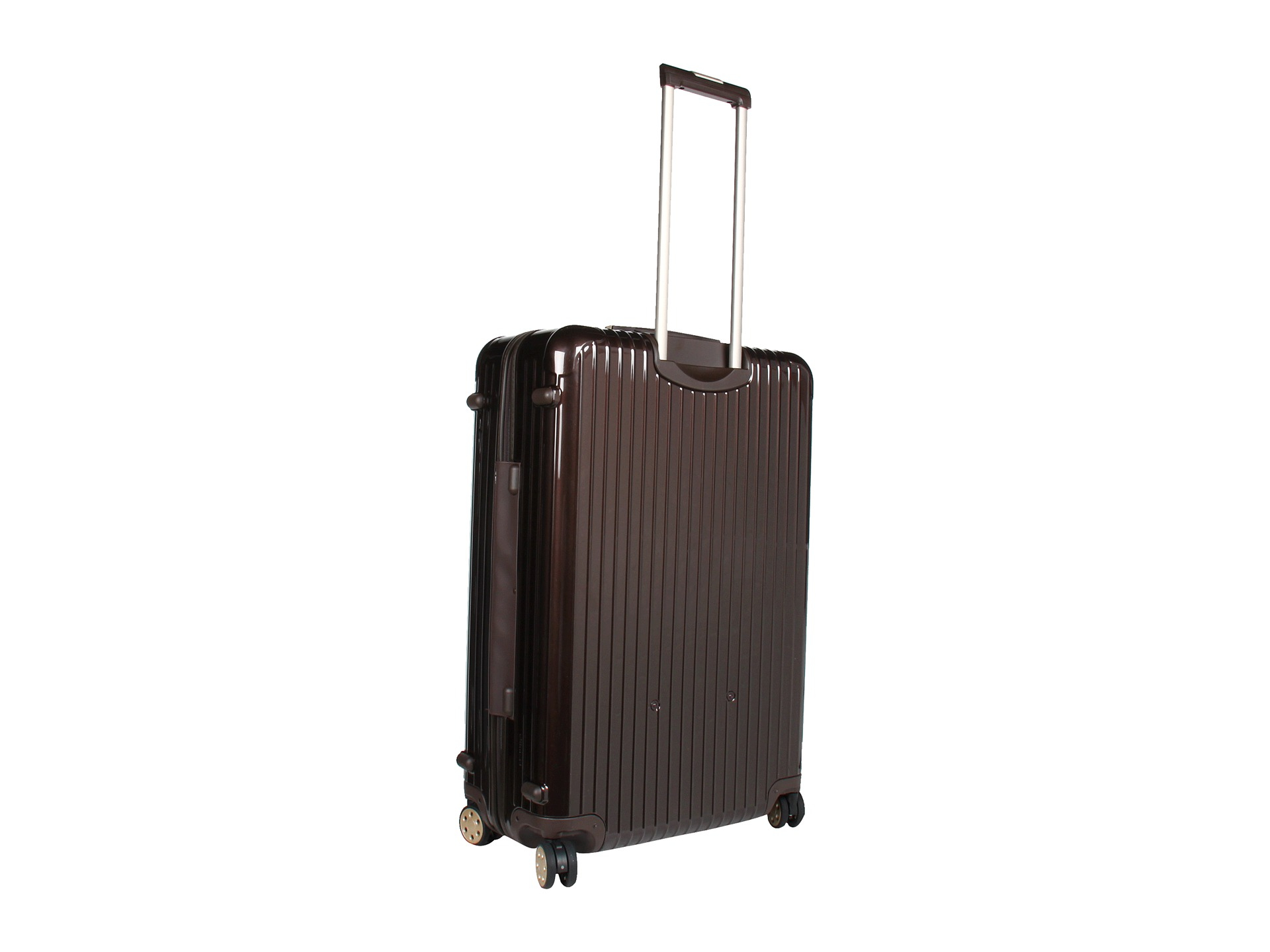 rimowa salsa deluxe 32 multiwheel in brown lyst. Black Bedroom Furniture Sets. Home Design Ideas