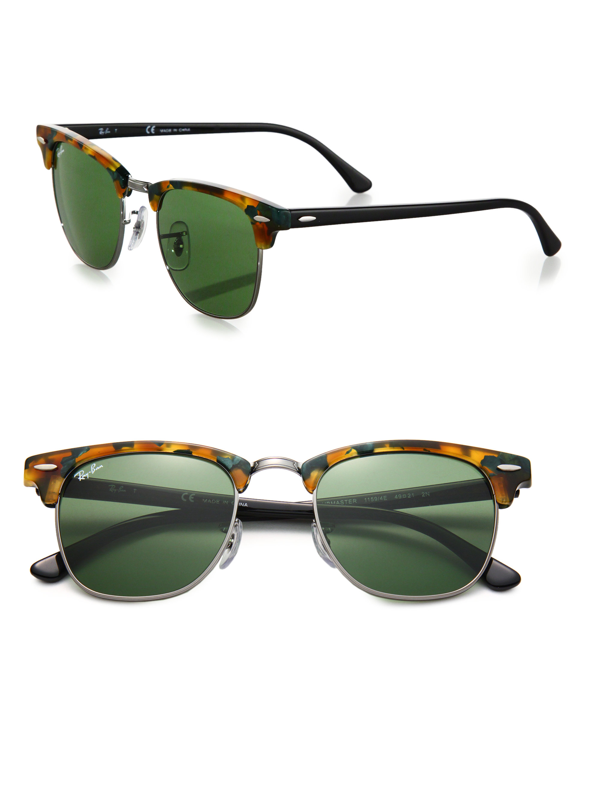 Glasses Frames Vernon Bc : Ray Ban Clubmaster Eyeglasses Green
