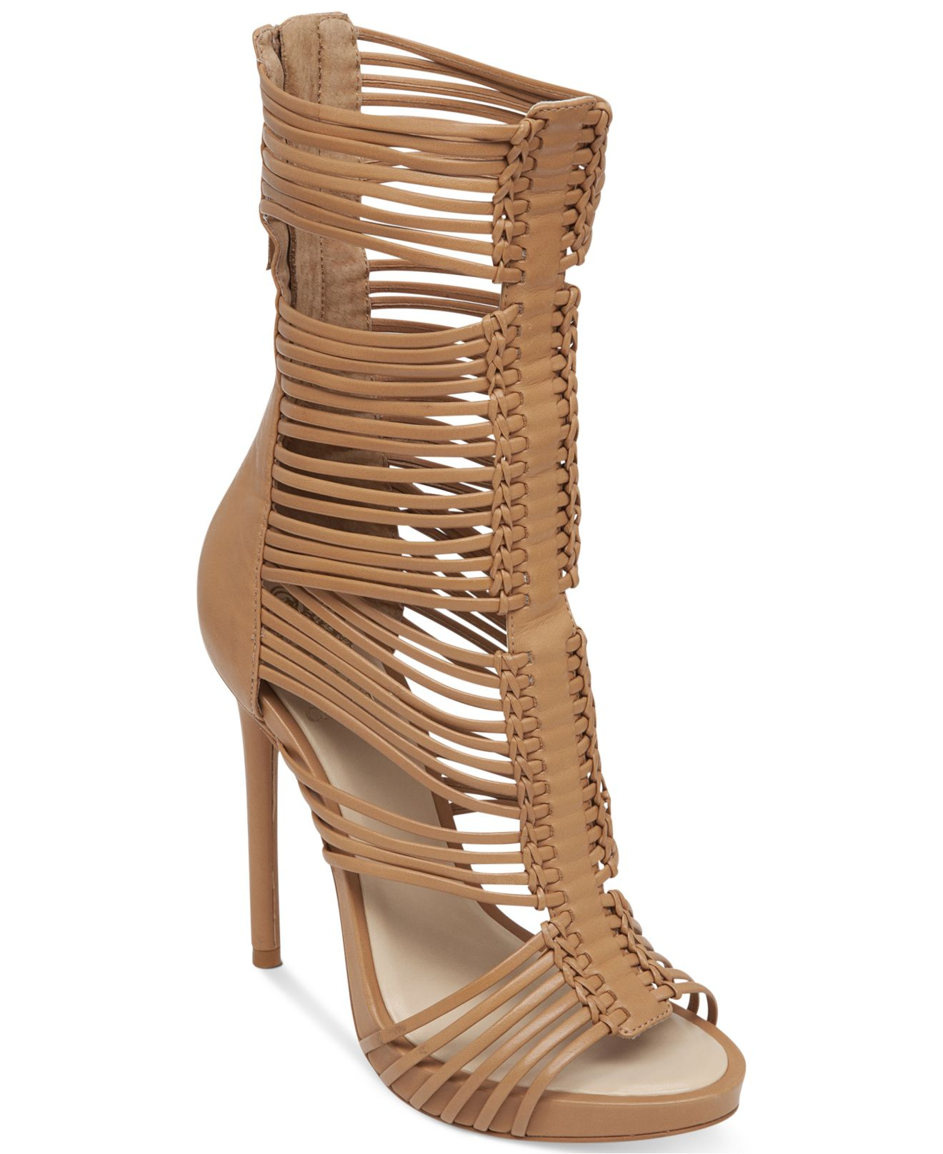 Vince Camuto Barbara Gladiator Dress Sandals In Brown Lyst