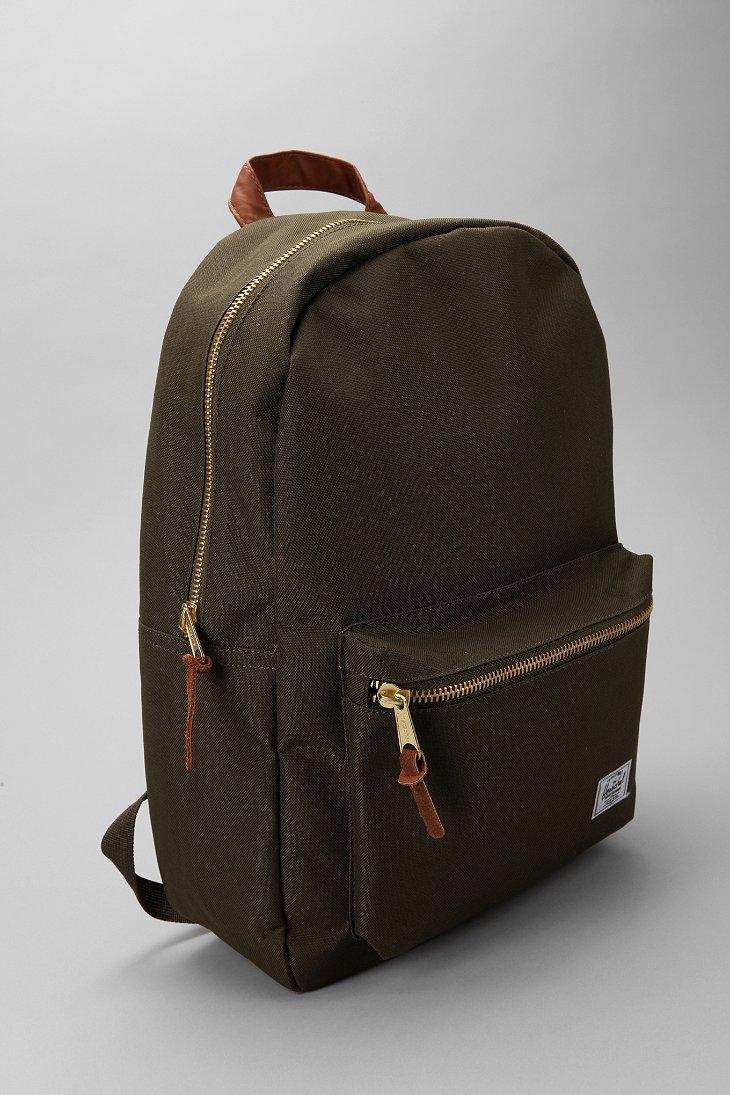 03c1b22b21e Lyst - Herschel Supply Co. Settlement Backpack in Green for Men