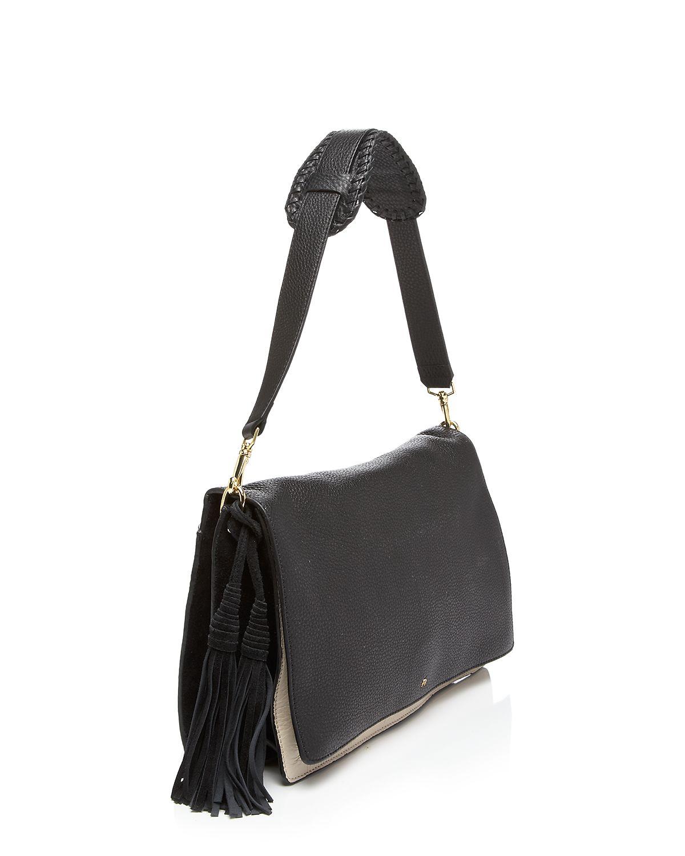 48c7ca444ec1 Lyst - Etienne Aigner Shoulder Bag - Porter Colorblock in Black