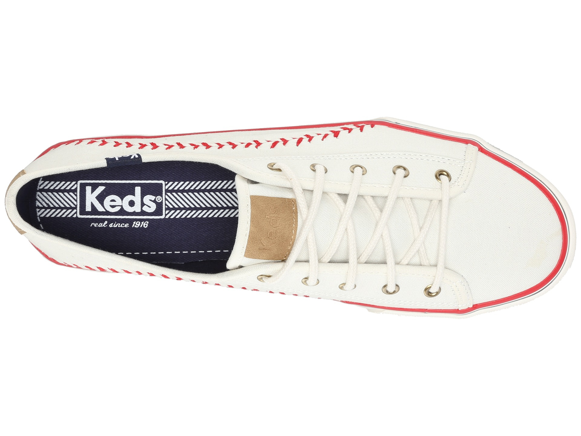 Keds Double Play in White - Lyst