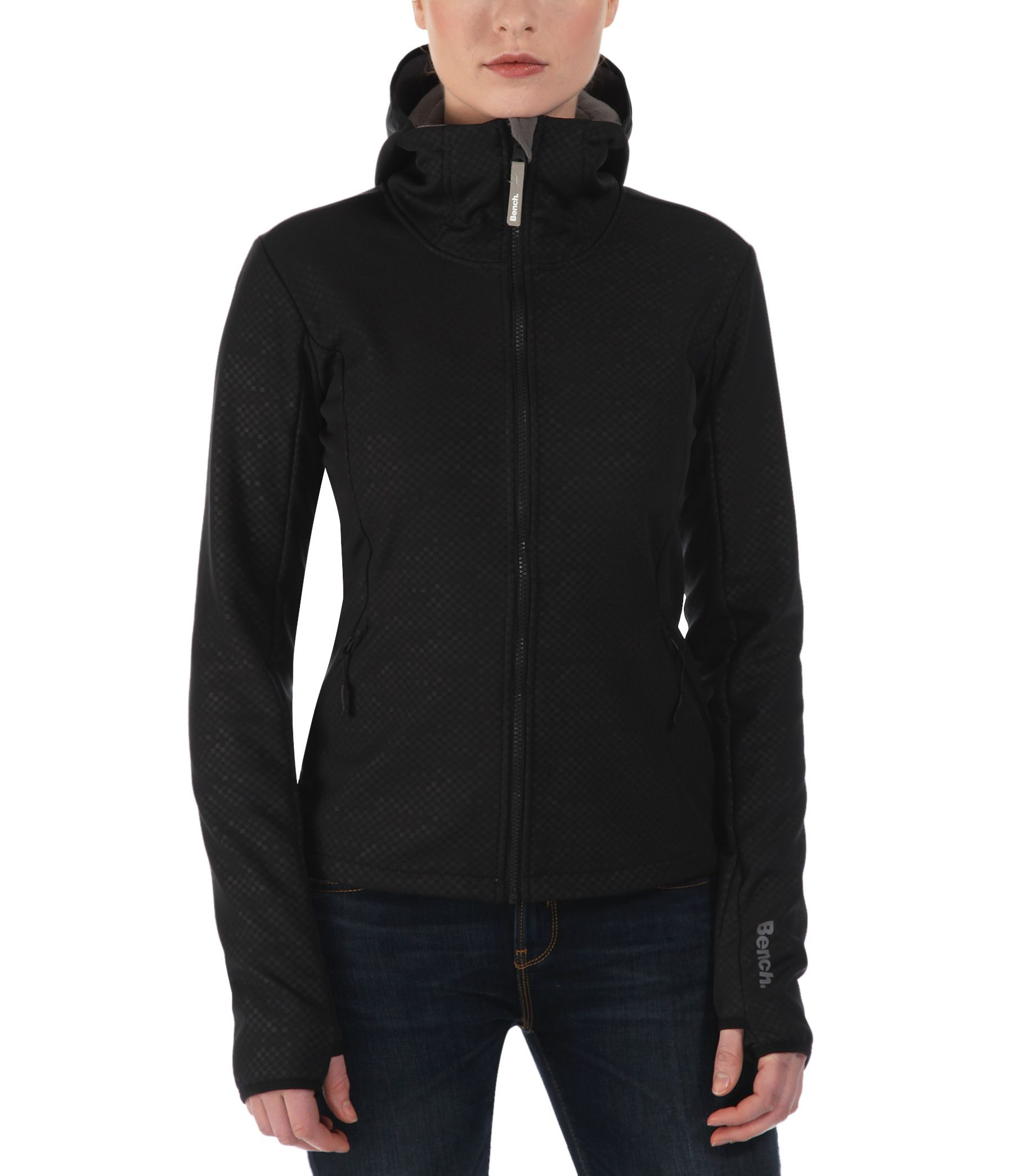 Bench Competence B Lightweight Shell Jacket In Black Lyst