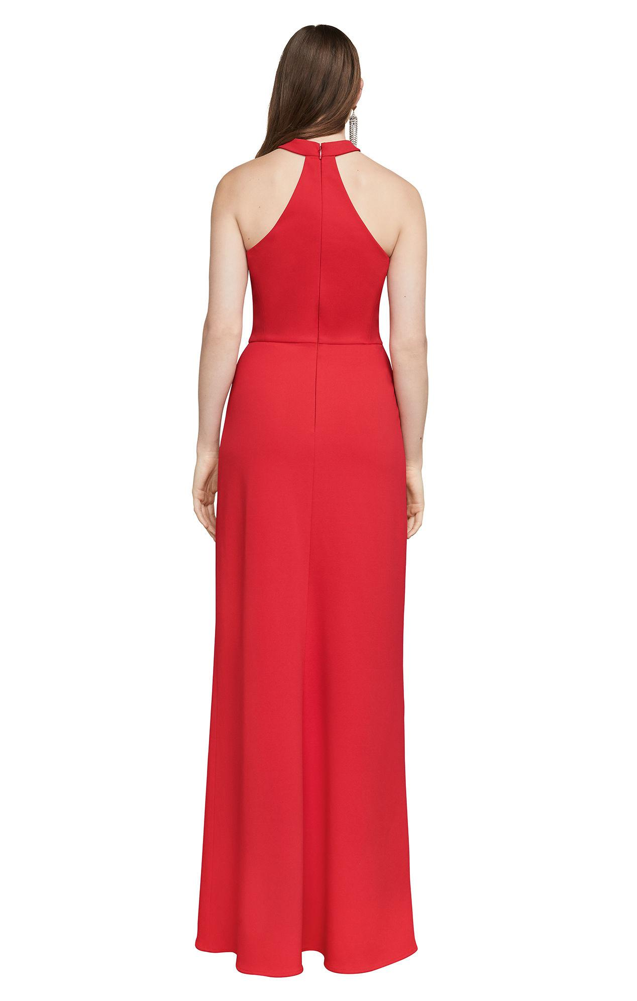 Lyst - Bcbgmaxazria Bcbg Elias Strapless Gown in Red