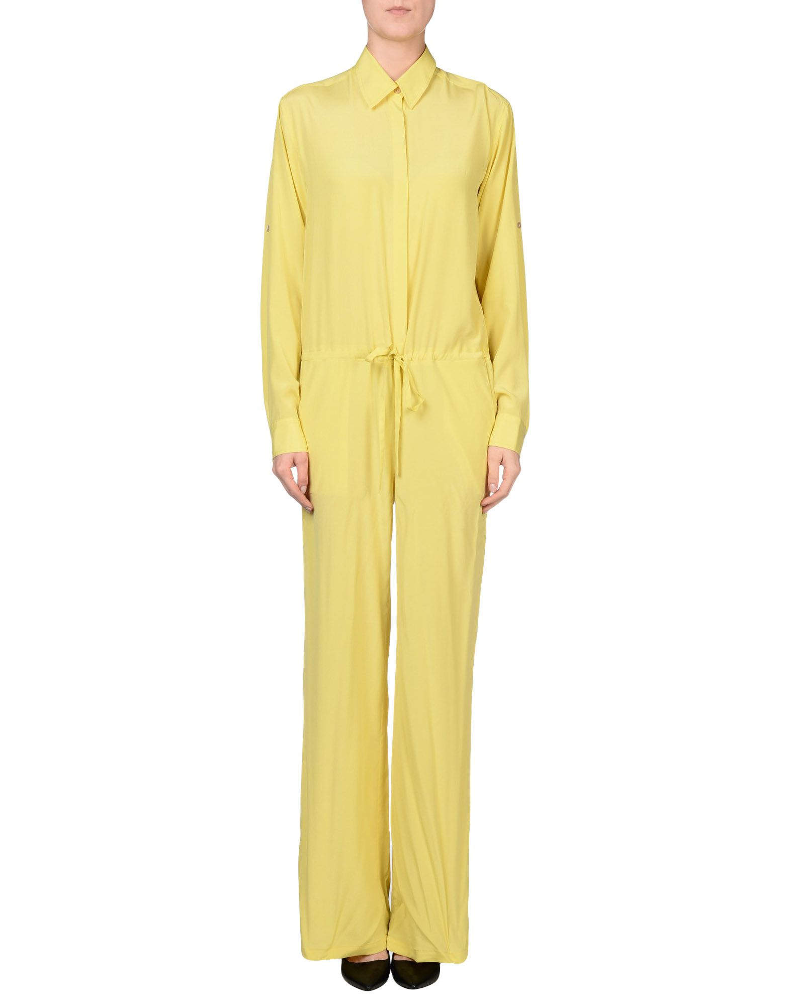 Lyst - P.A.R.O.S.H. Jumpsuit in Yellow