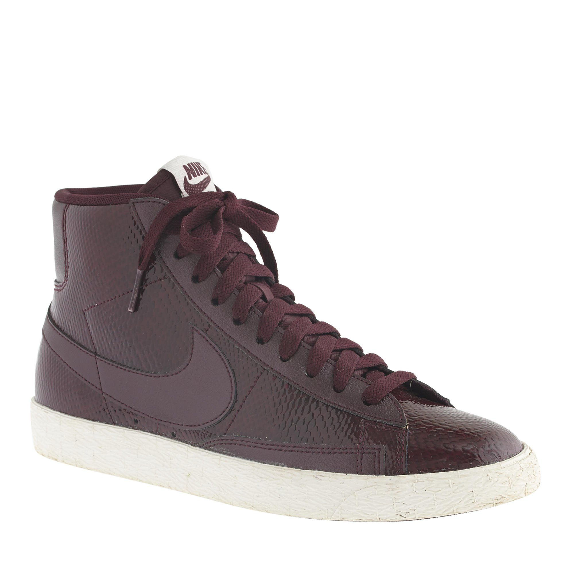 nike blazer vintage burgundy leather