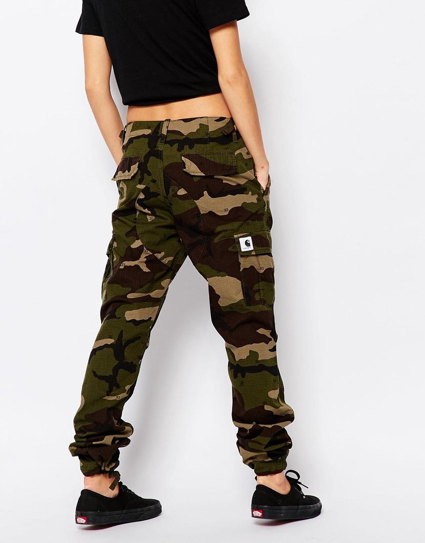 Camo Skinny Jeans Womens