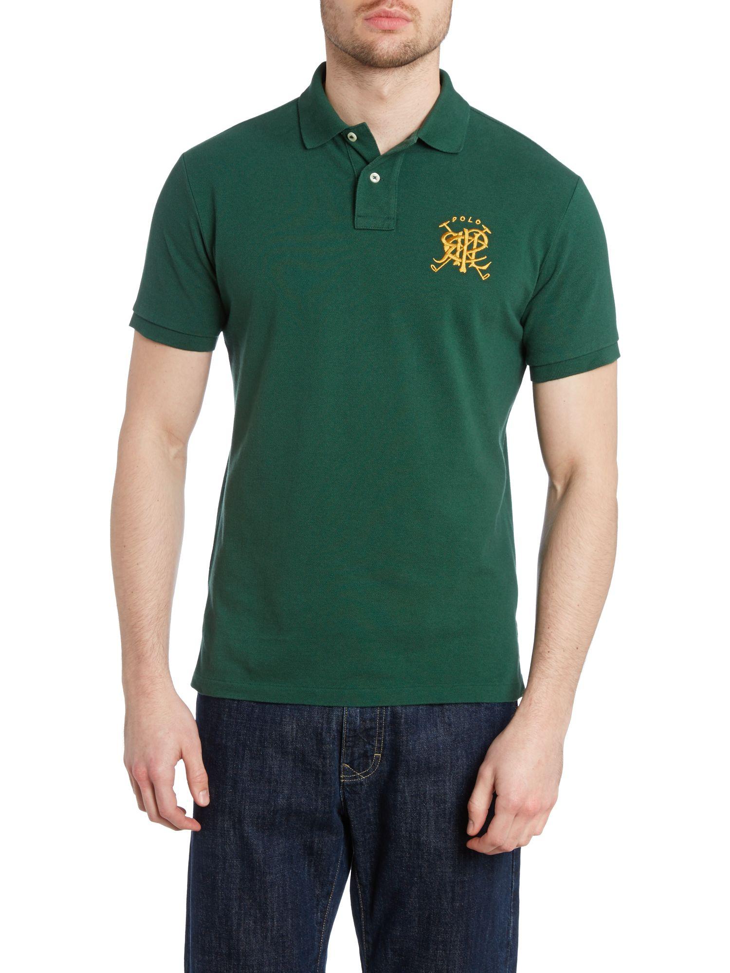 Lyst Polo Ralph Lauren Custom Fit Short Sleeve Crest