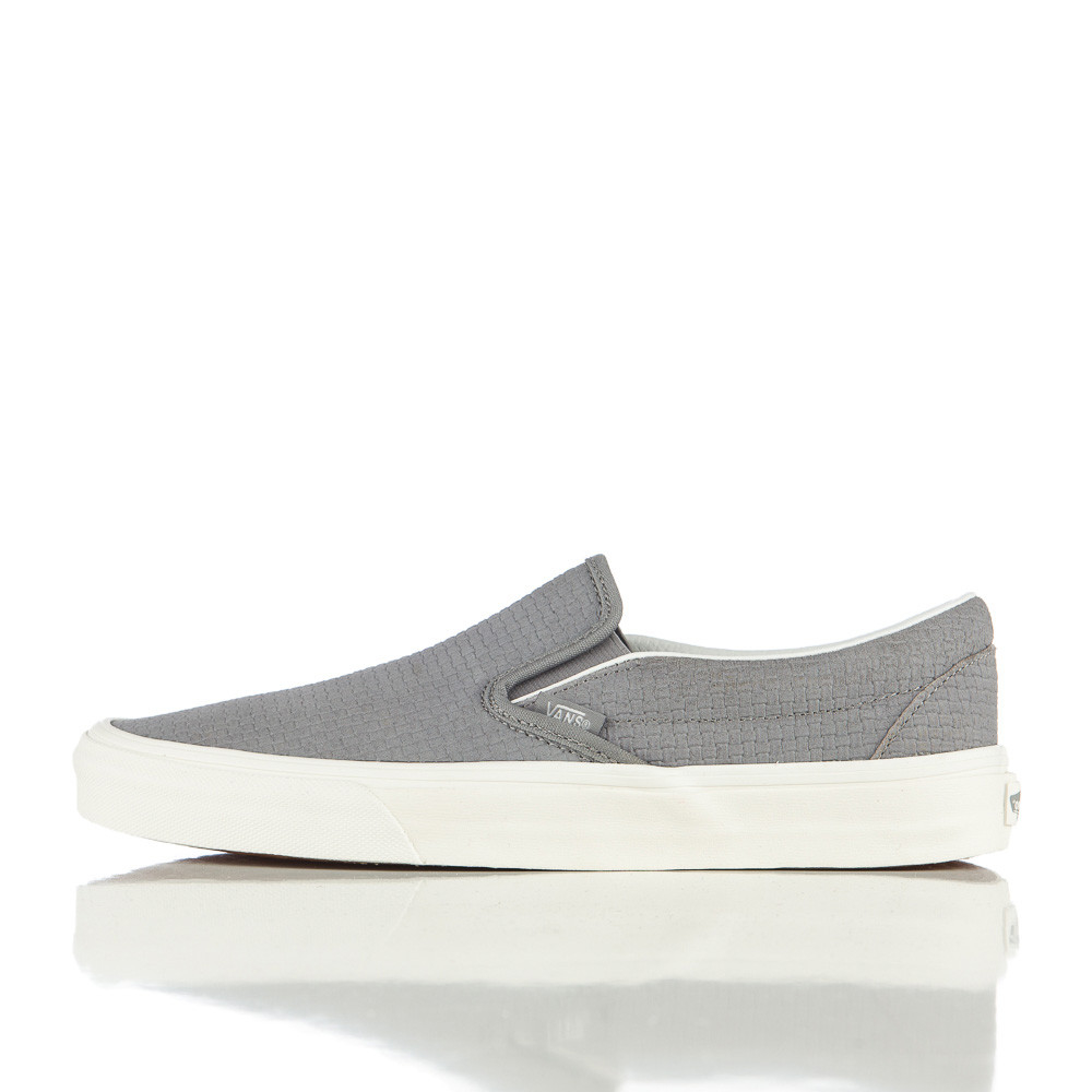 a339ae2fd2 Lyst - Vans Braided Suede Slip On In Wild Dove in Gray for Men