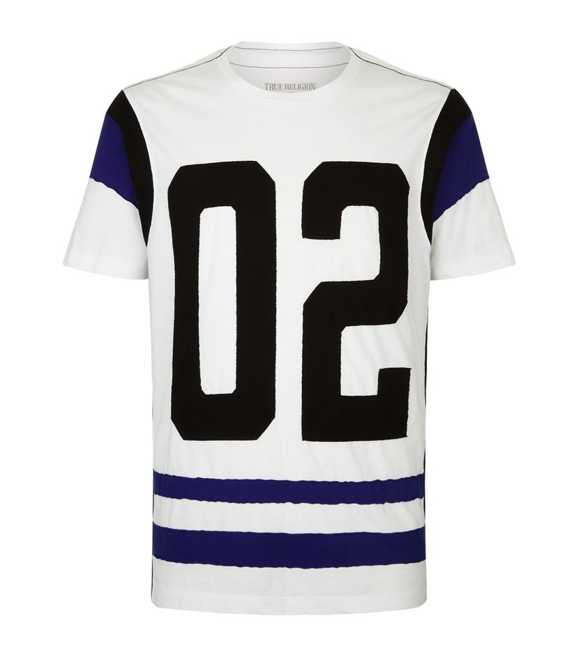 true religion number jersey t