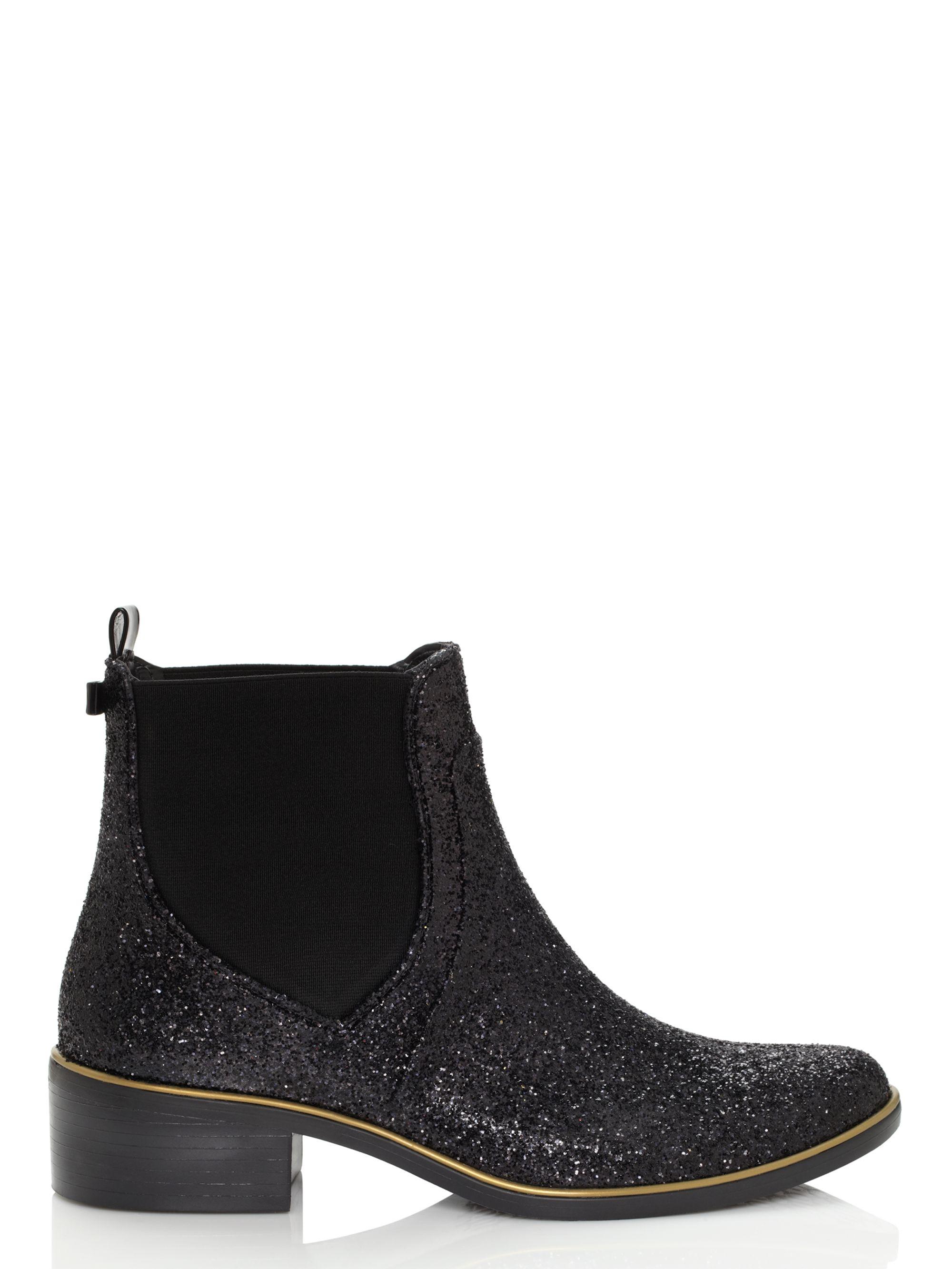 Kate Spade Sedgewick Glitter Rain Boots
