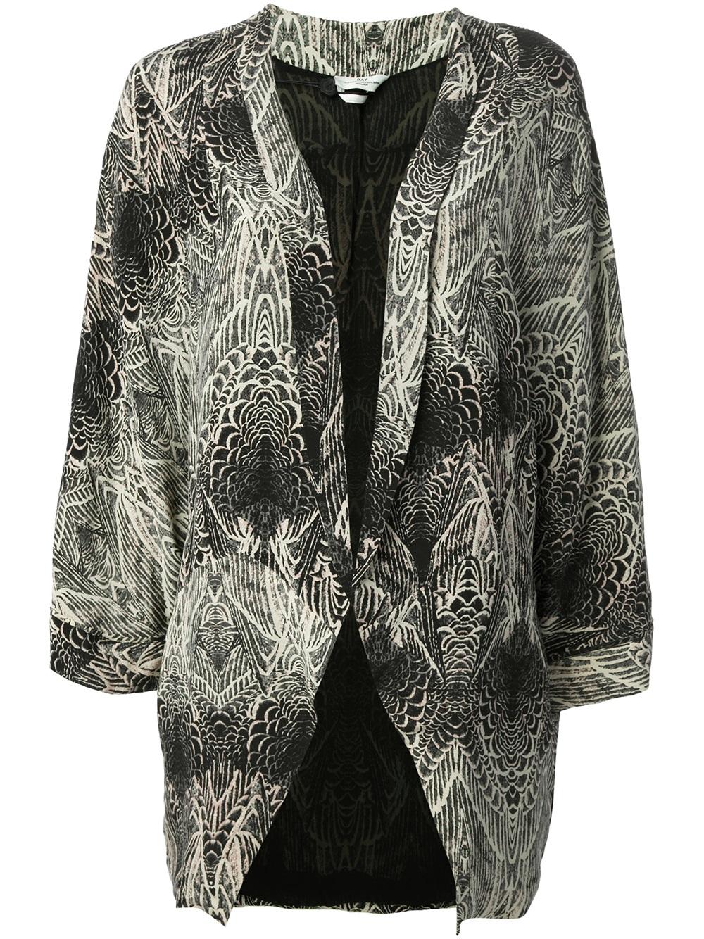 lyst day birger et mikkelsen pinion blazer in black. Black Bedroom Furniture Sets. Home Design Ideas