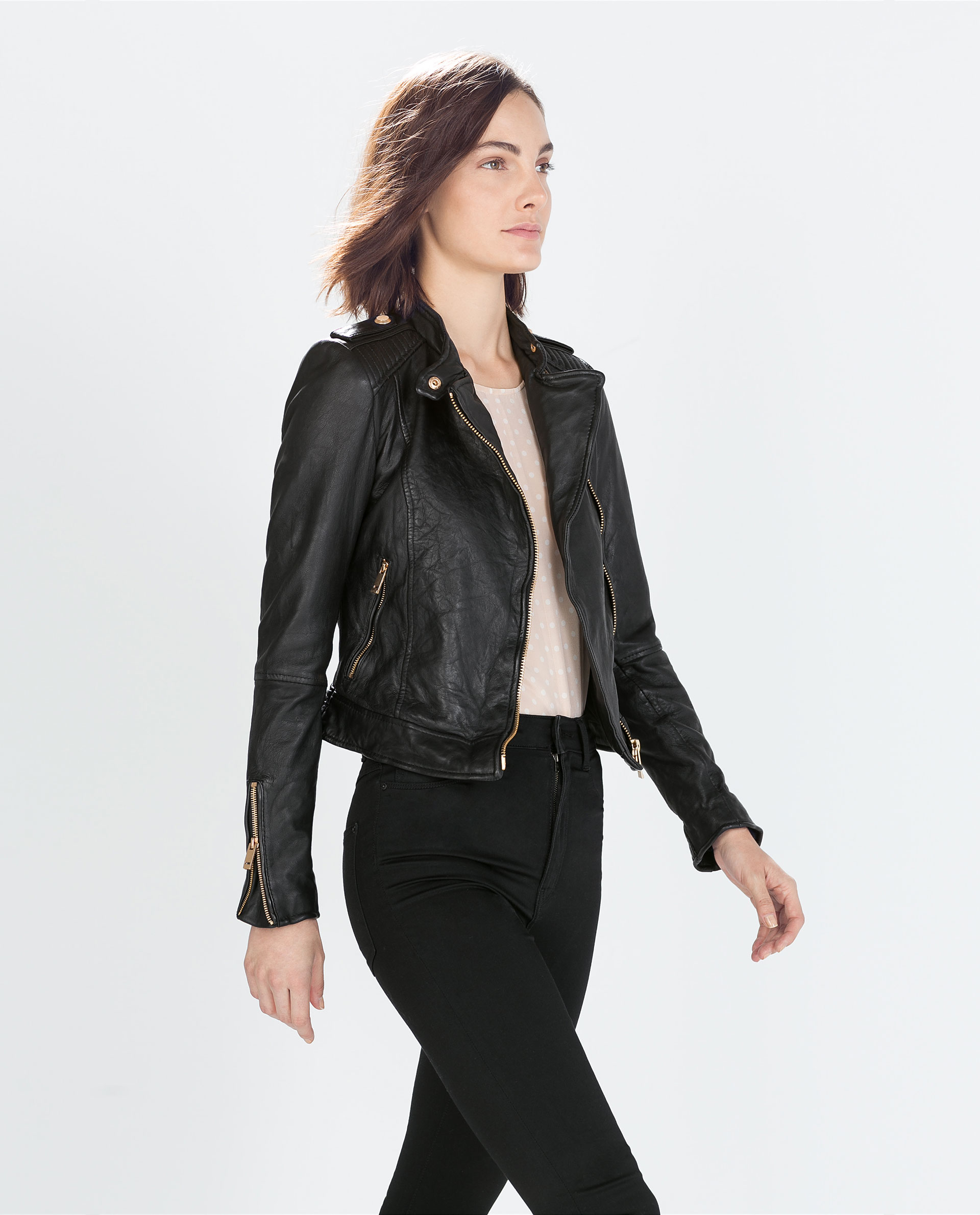 461df8ef Zara Faux Leather Jacket - vinted.com