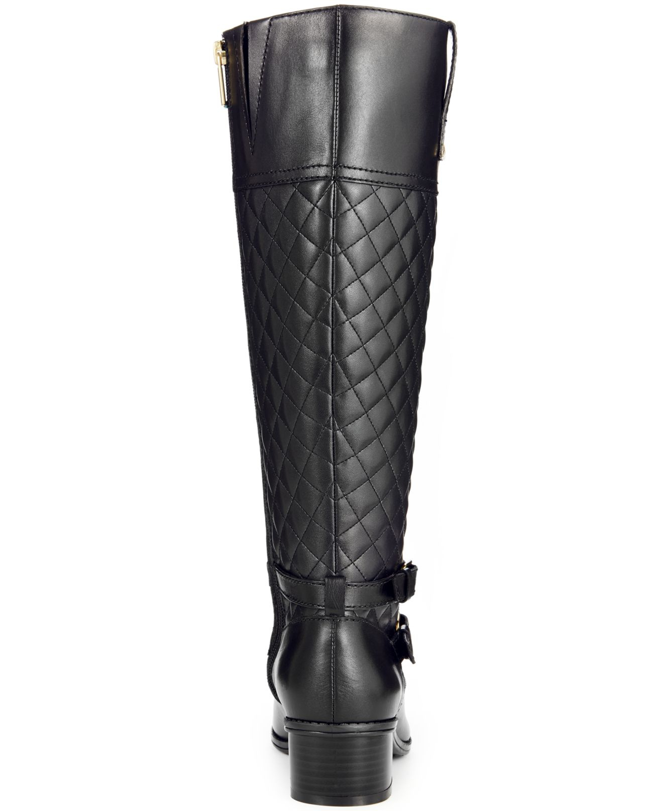 Bandolino Claraa Tall Riding Boots - A Macy'S Exclusive in Black ...