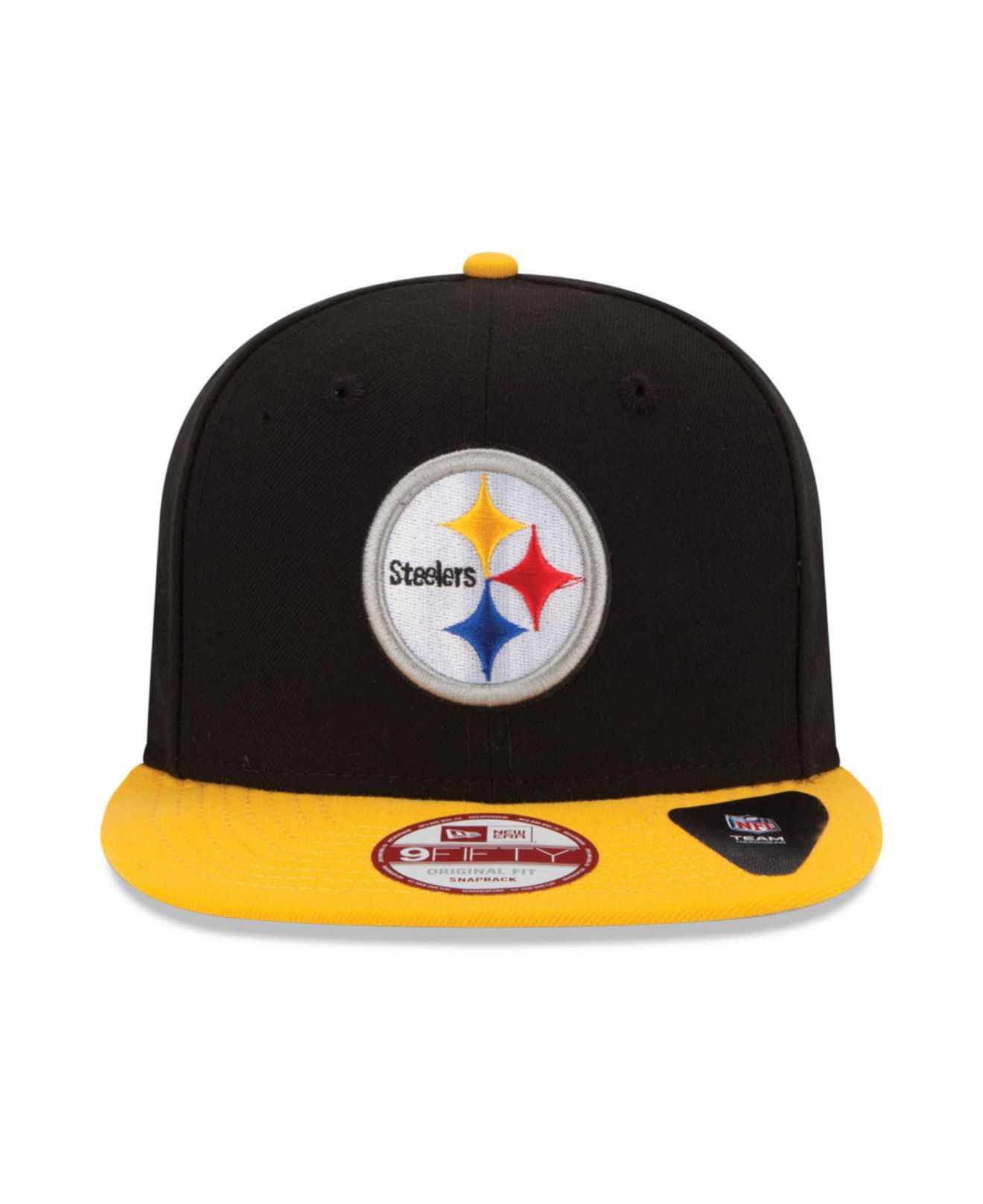 a41e2758227 Lyst - KTZ Pittsburgh Steelers 9fifty Snapback Cap in Black for Men