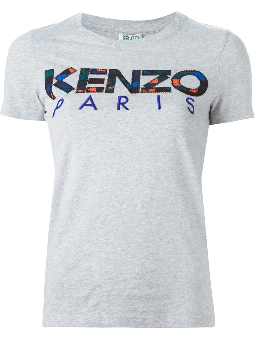 kenzo paris t shirt in gray lyst. Black Bedroom Furniture Sets. Home Design Ideas