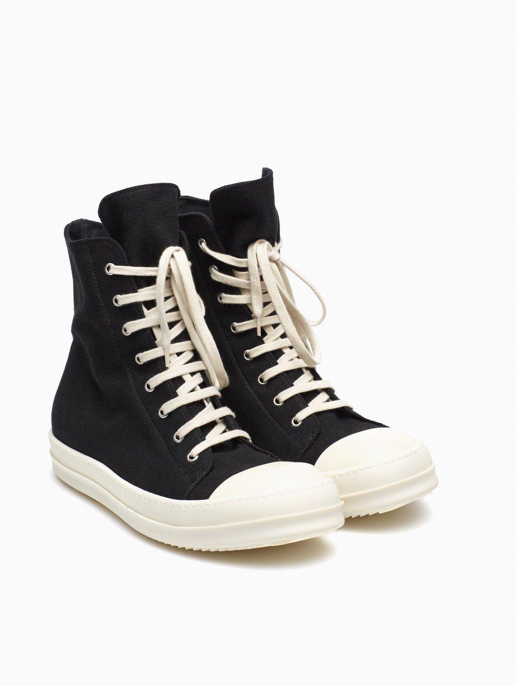 drkshdw by rick owens sneakers in black for men lyst. Black Bedroom Furniture Sets. Home Design Ideas