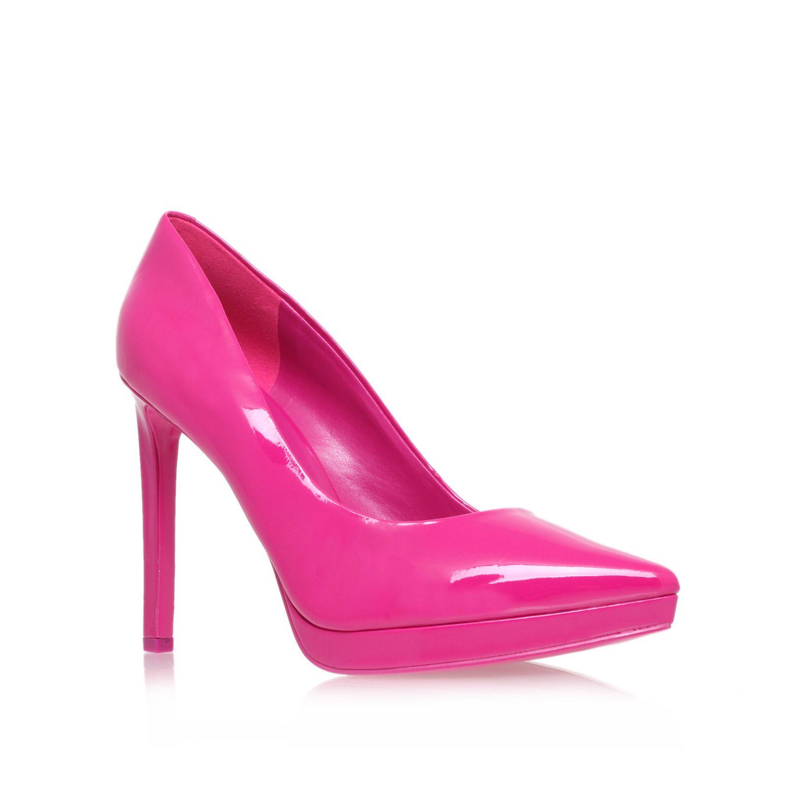 nine west violet3 high heel court shoes in pink lyst. Black Bedroom Furniture Sets. Home Design Ideas