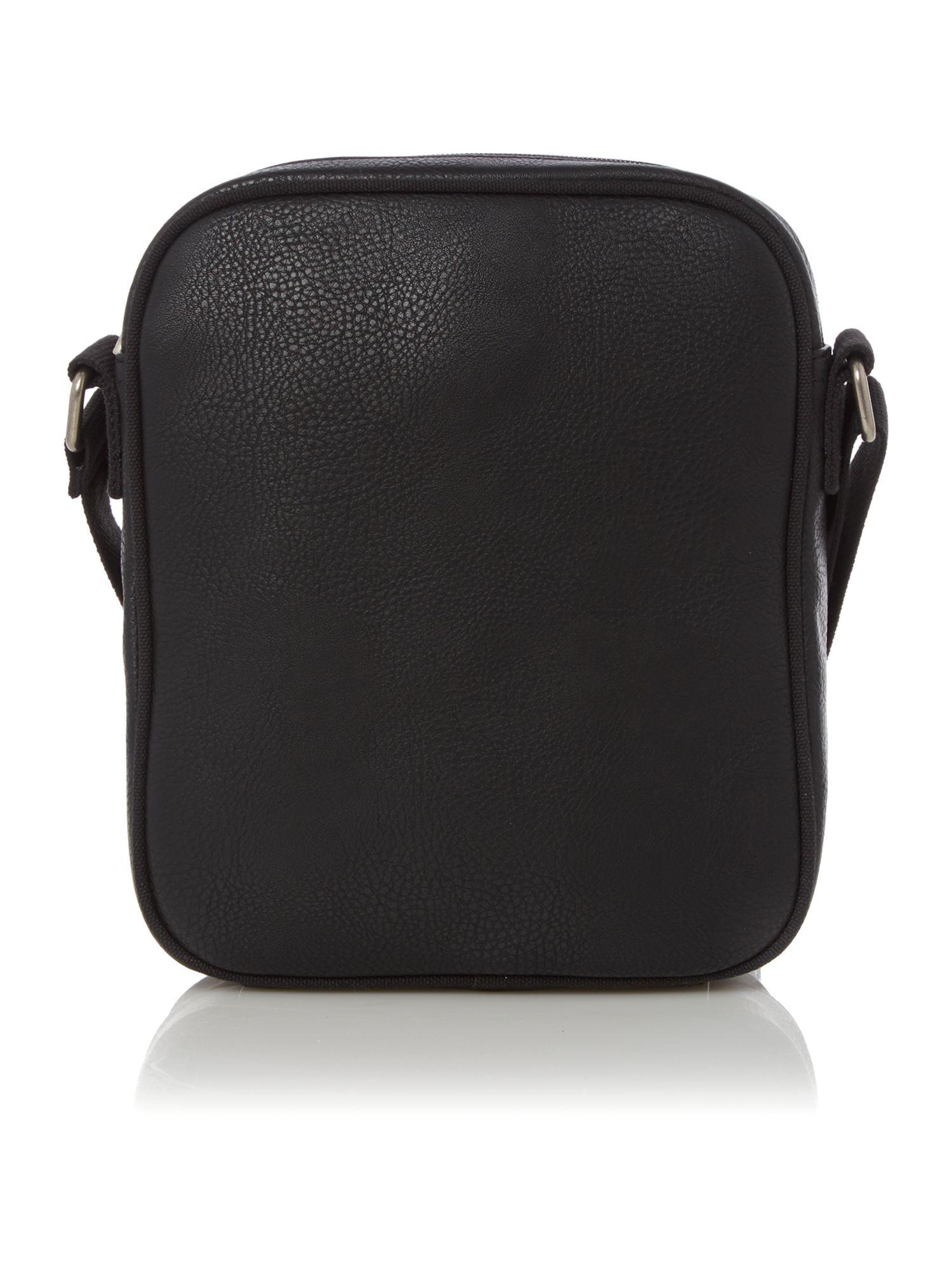 Armani jeans Large Logo Man Bag in Black for Men | Lyst
