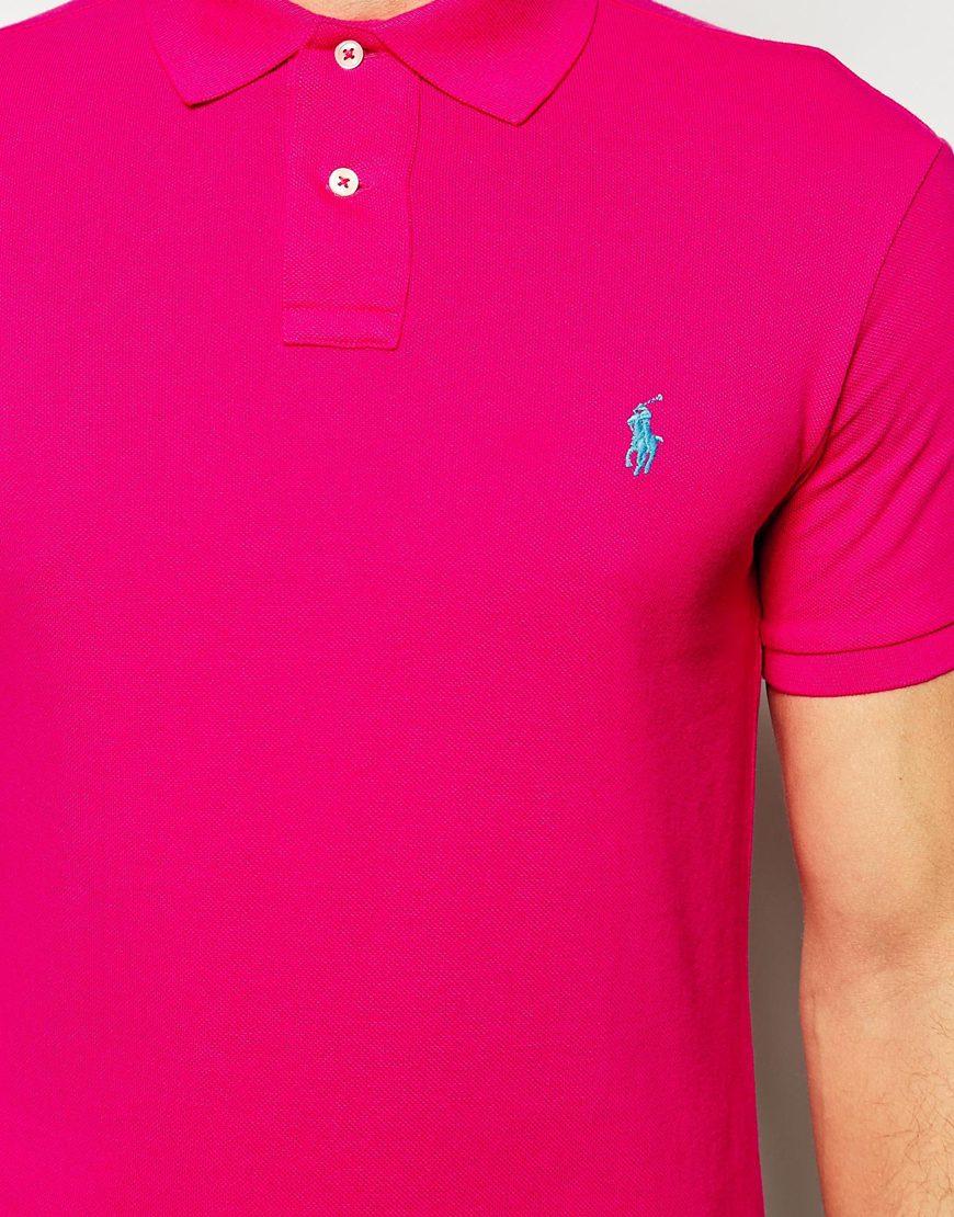 Ralph Lauren Polo Shirts Pink