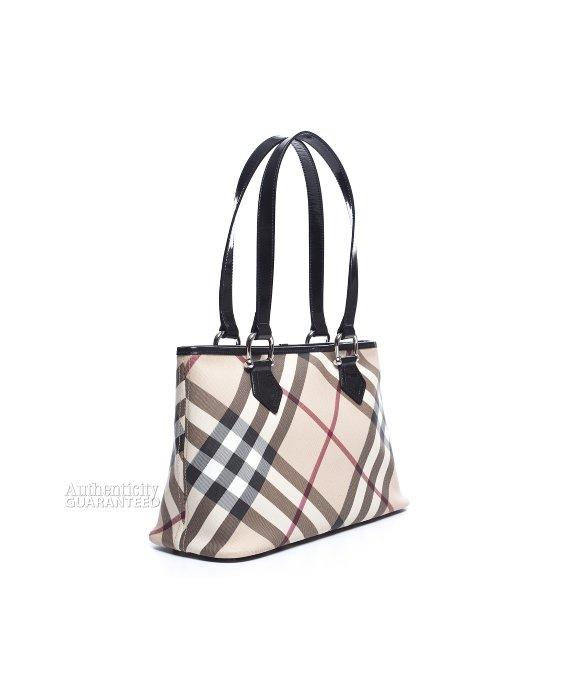 ... Lyst - Burberry Pre-owned Nova Check Black Patent Leather To usa cheap  sale f101f ... 7fb0ddd5f5c35