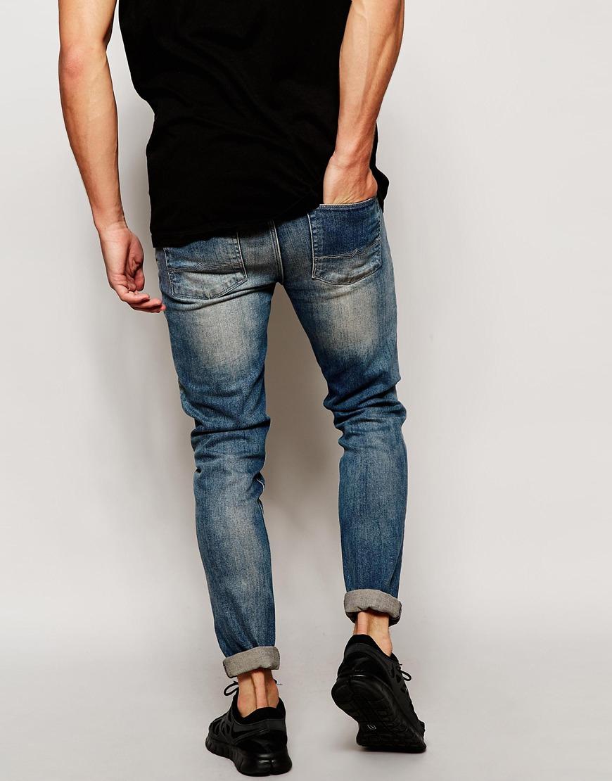 Мужские узкие джинсы фото - Unitedshop.com.ua