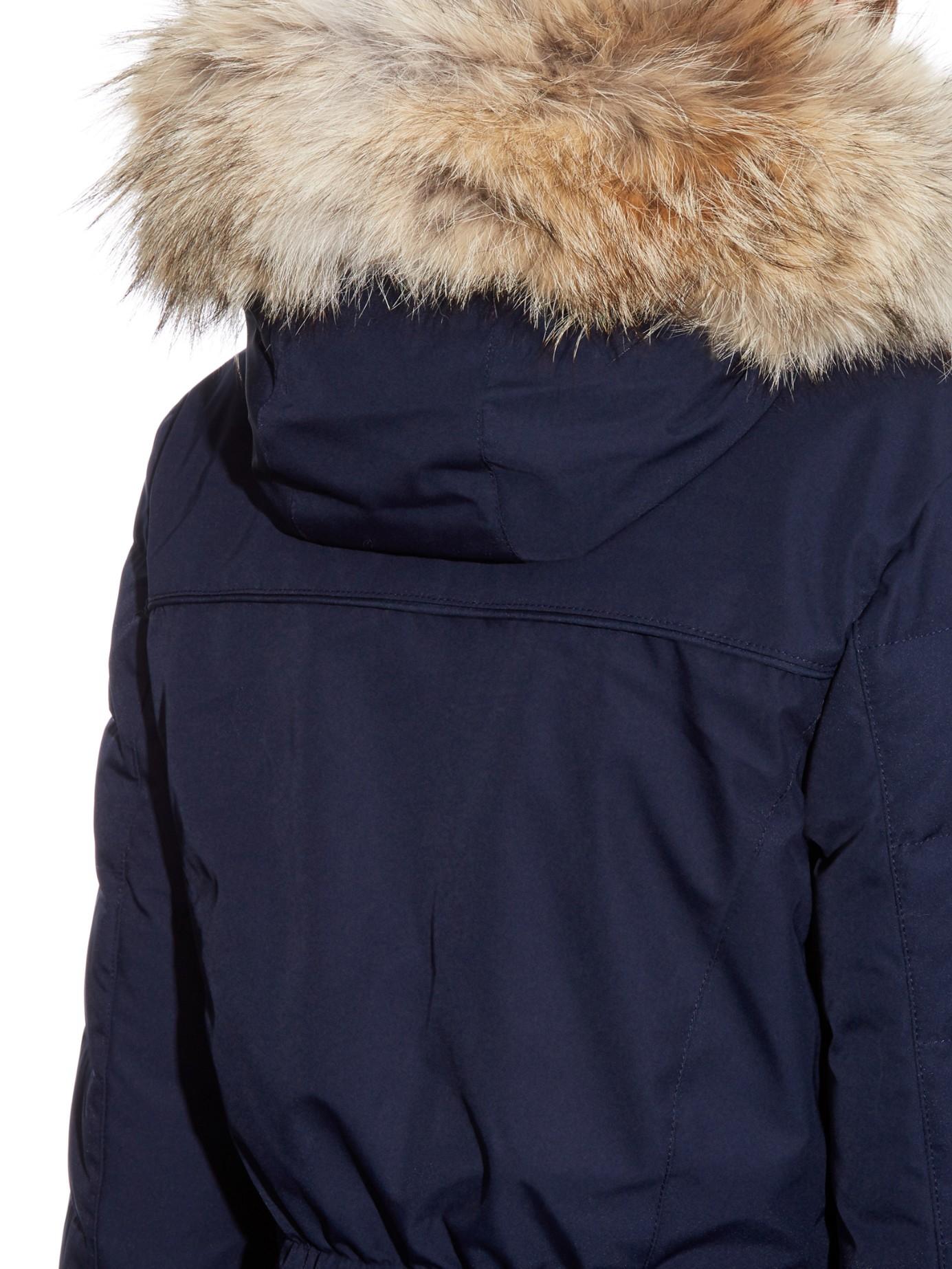 canada goose elrose fur-hood parka