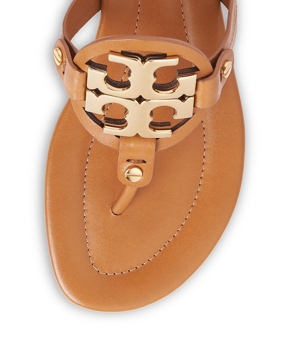 1743d2f6d102a Lyst - Tory Burch Miller 2 Sandal in Brown