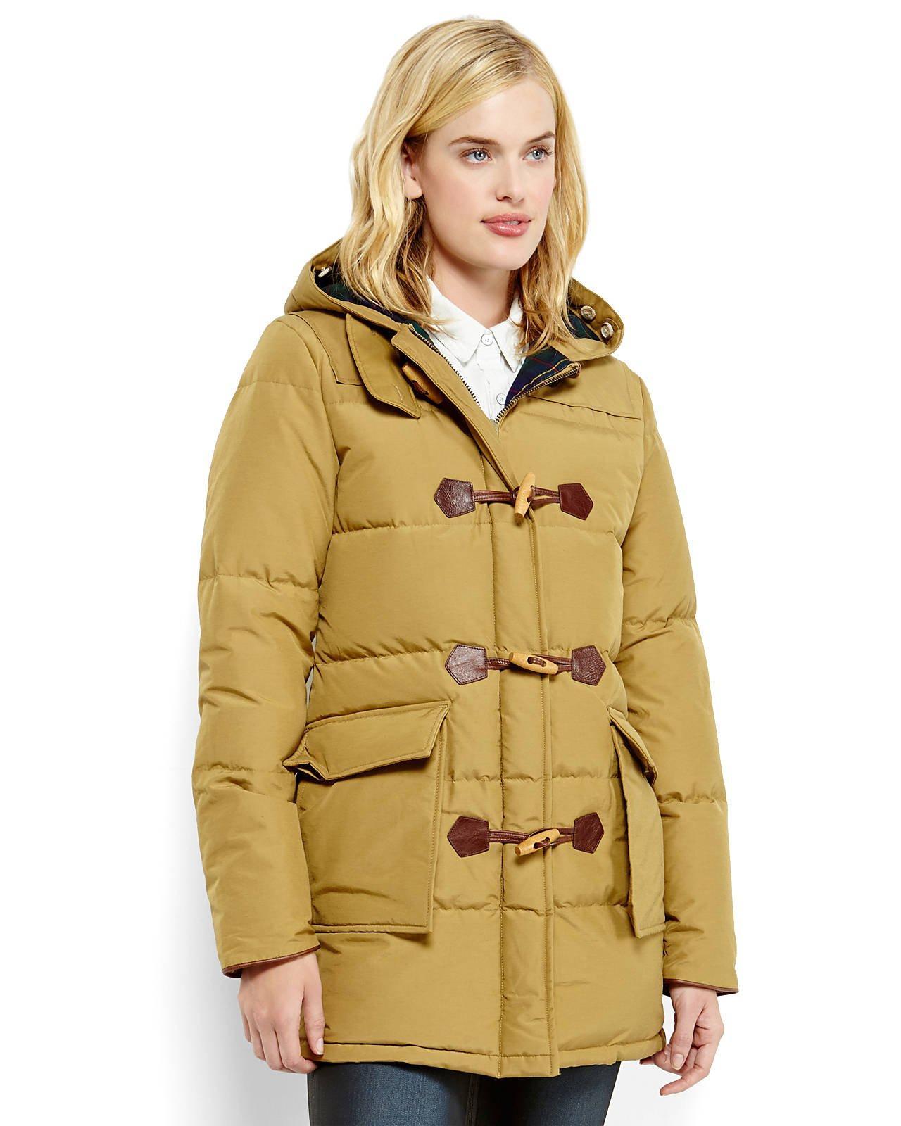 Penfield Keswick Long Down Coat in Brown | Lyst