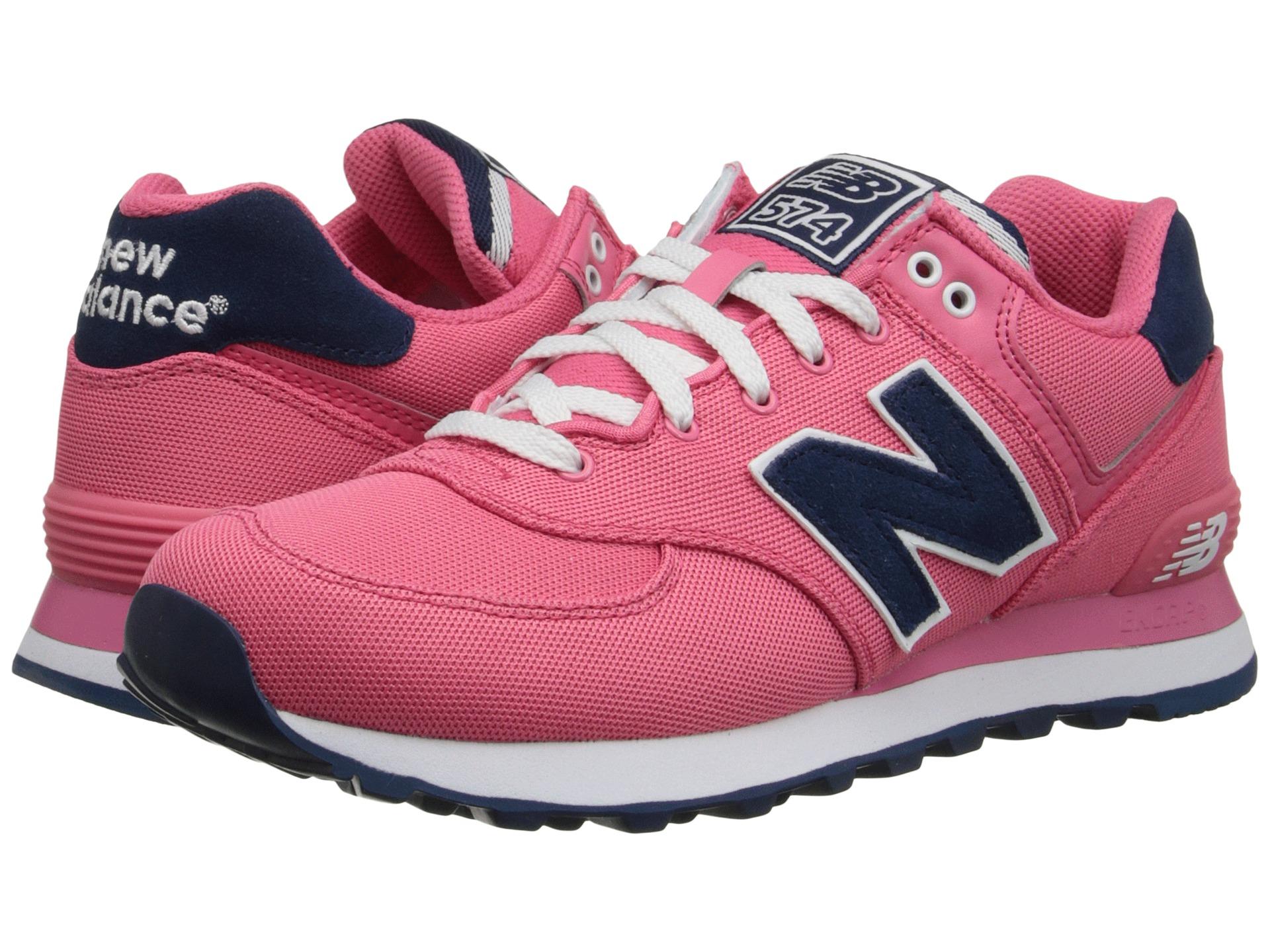 Womens Shoes New Balance Classics WL574 Blush
