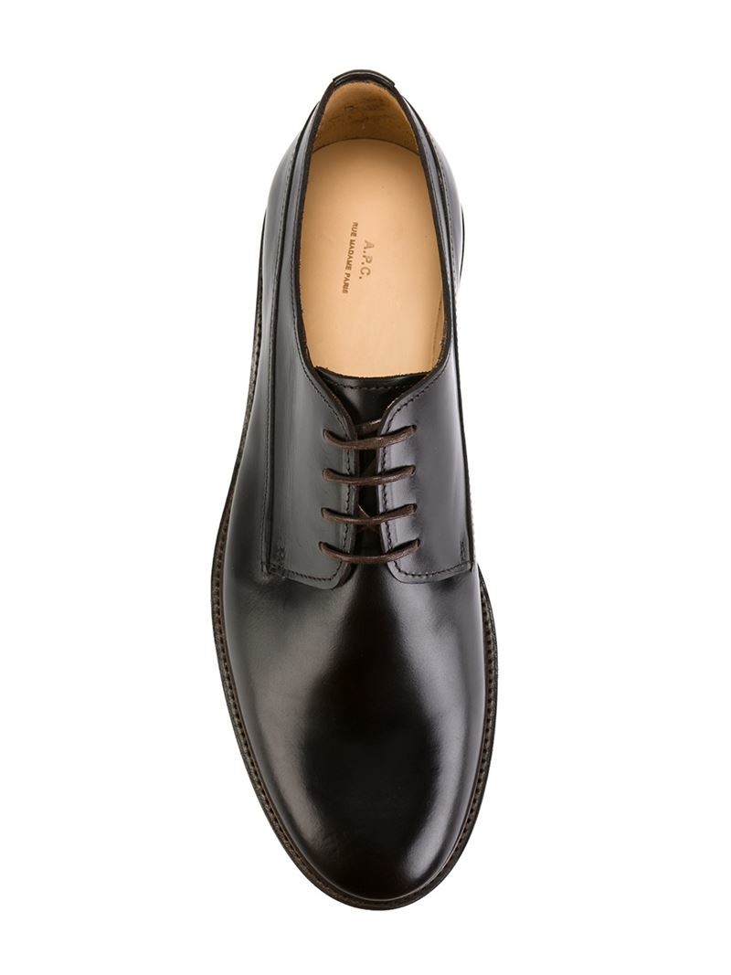 Classic Derby Shoes in Black for Men : Lyst